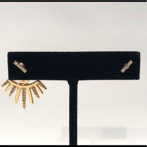 BaubleBar Cairo gold tone earring